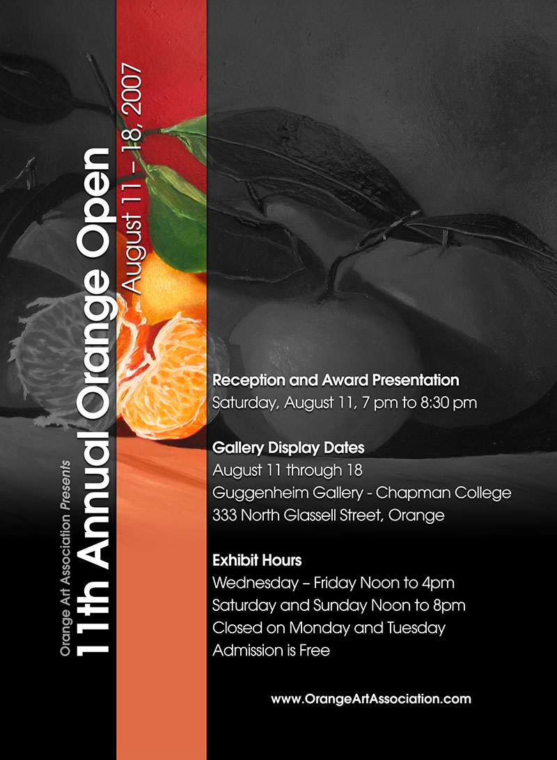 11th Annual Orange Open Post Card